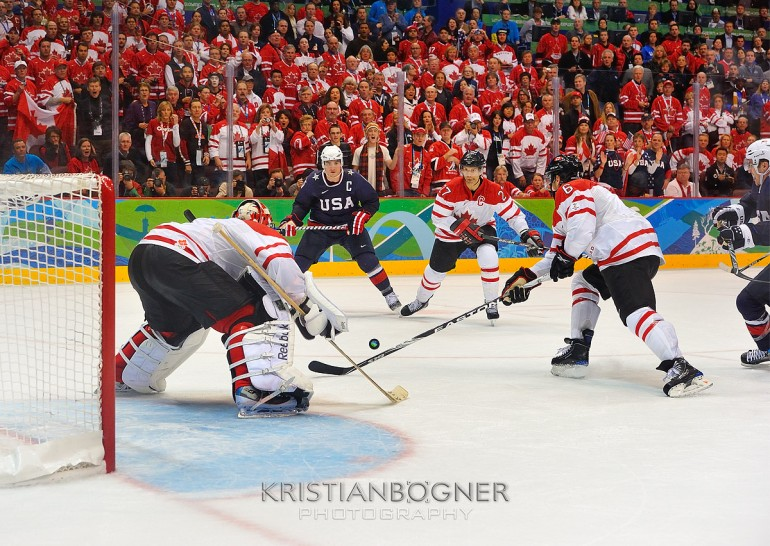 Team Canada - Olympic Gold Medal Hockey Game