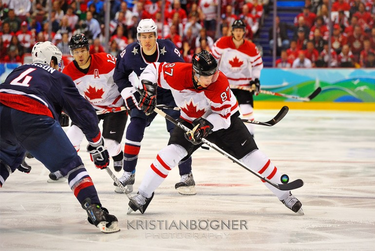 Crosby - Team Canada - Olympic Gold Medal Hockey Game
