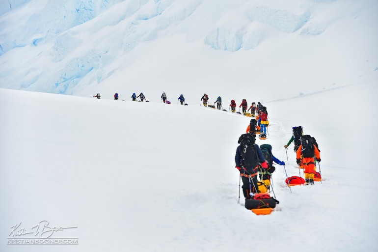 True Patriot Love Foundation Vinson Massif Antarctica Expedition sponsored by Nikon, Scotiabank and others.